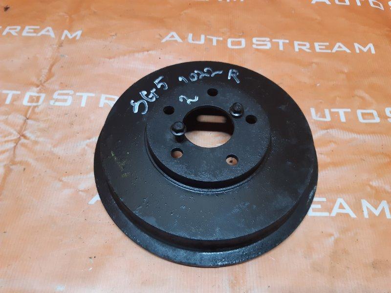 Тормозной барабан Subaru Forester SG5 EJ205 2002 задний правый