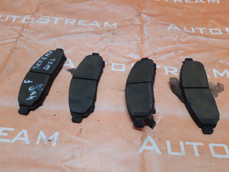 Тормозные колодки Nissan Serena C25 MR20DE 2005 переднее