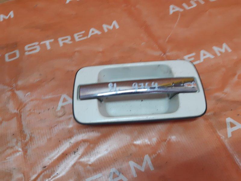 Ручка двери внешняя Isuzu Bighorn UBS69GW 4JG2 1996 задняя левая