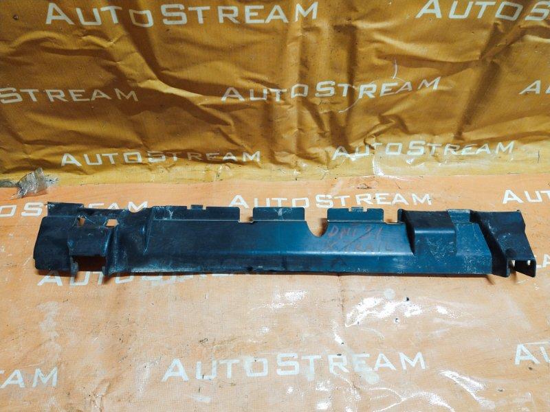 Защита радиатора Nissan X-Trail DNT31 M9R передняя