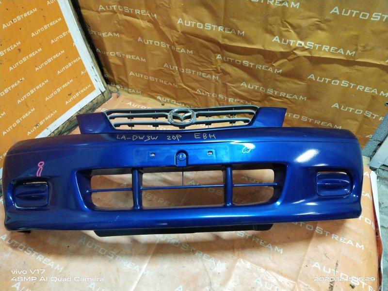 Бампер Mazda Demio DW3W B3 передний