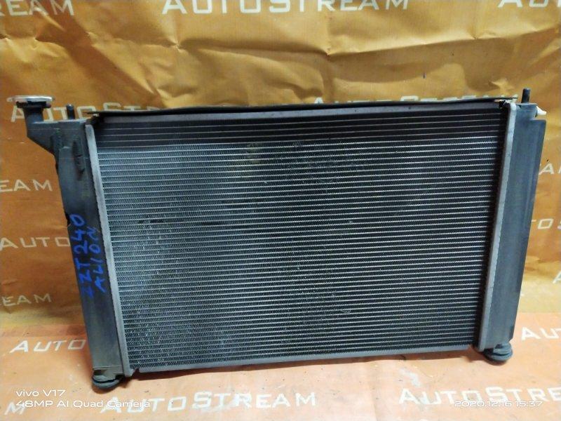 Радиатор двс Toyota Allion ZZT240 1ZZFE