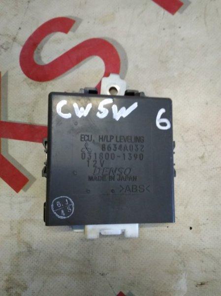 Блок управления Mitsubishi Outlander CW5W 4B12 2007