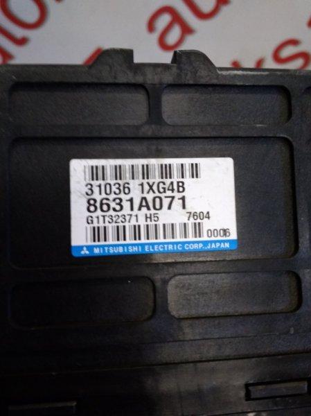 Блок управления акпп Mitsubishi Outlander CW5W 4B12 2007