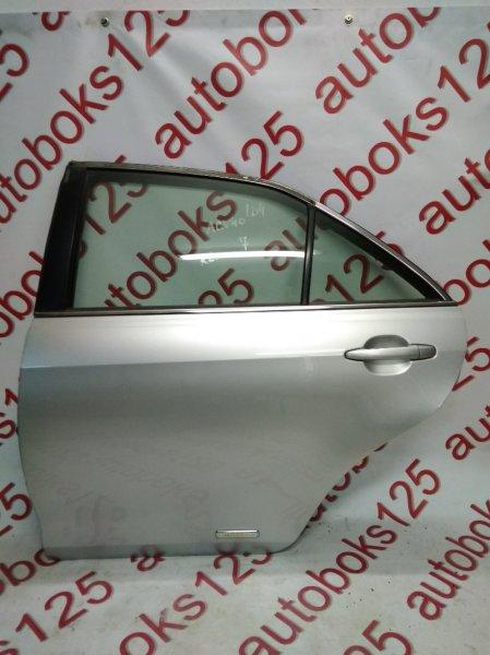 Дверь Toyota Camry ACV40 2AZFE 2006 задняя левая