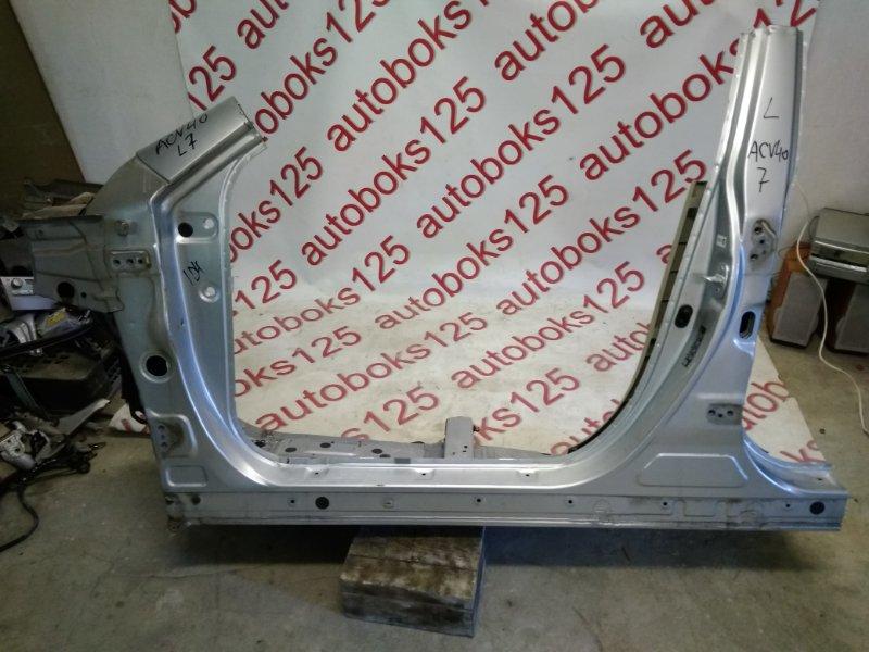 Порог кузова Toyota Camry ACV40 2AZFE 2006 левый