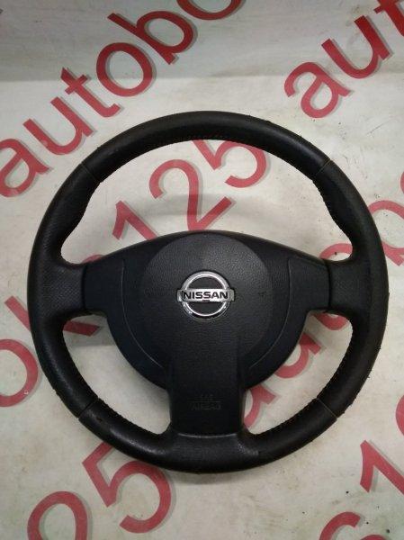 Подушка безопасности водителя Nissan Dualis KNJ10 MR20DE 2008
