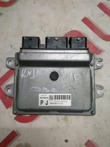 Блок управления двигателем Nissan Dualis KNJ10 MR20DE 2008