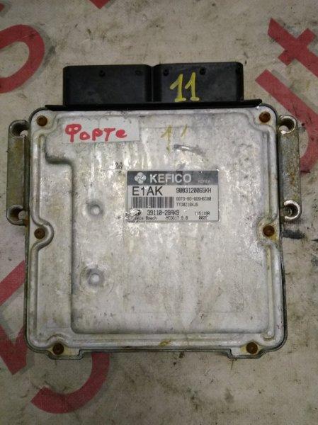 Блок управления двигателем Kia Forte