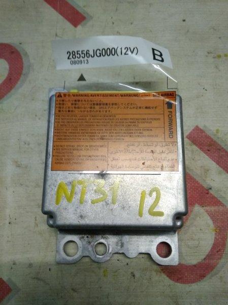 Блок управления аирбаг Nissan X-Trail NT31 MR20DE 2008