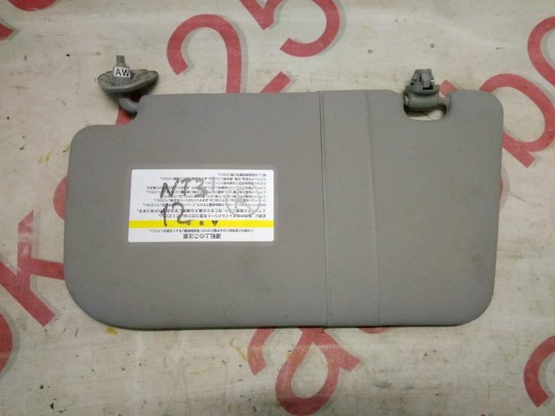 Козырек солнцезащитный Nissan X-Trail NT31 MR20DE 2008 правый