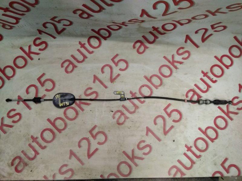 Трос переключения акпп Nissan X-Trail NT31 MR20DE 2008