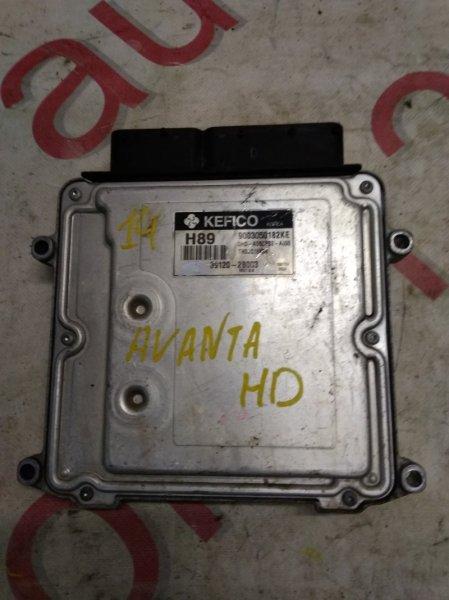 Блок управления двигателем Hyundai Avante HD