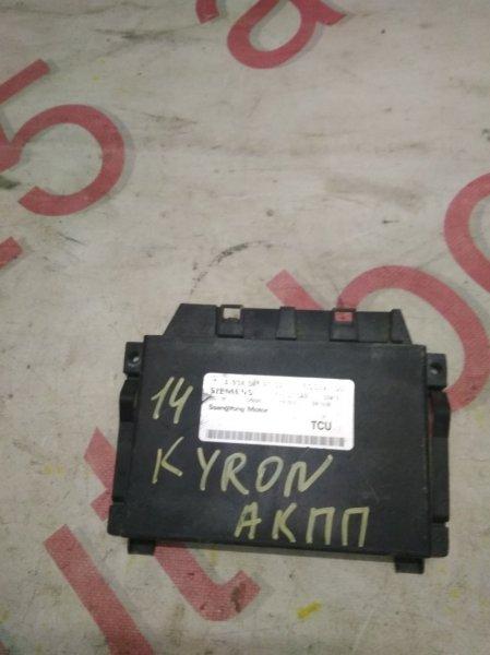 Блок управления акпп Ssangyong Kyron.rexton