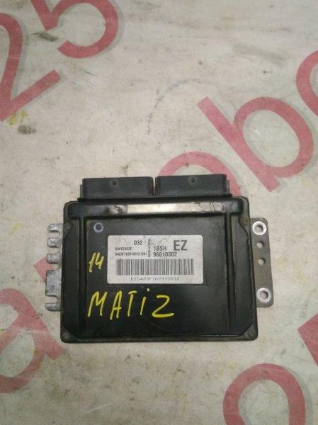 Блок управления двигателем Daewoo Matiz