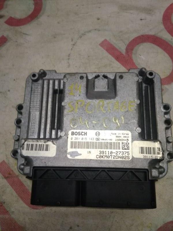 Блок управления двигателем Kia Sportage 2005
