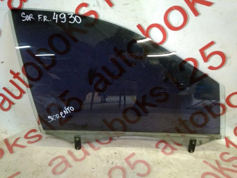 Стекло двери Kia Sorento BL D4CB 2006 переднее правое