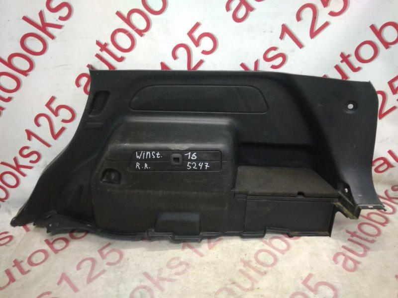 Обшивка багажника Daewoo Winstorm KLAC 2008 задняя правая