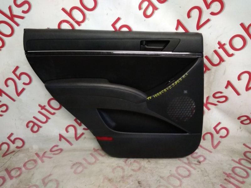 Обшивка двери Hyundai Ix55 EN 2009 задняя левая