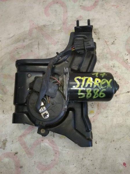 Мотор дворников Hyundai Starex A1 D4CB 2005 передний