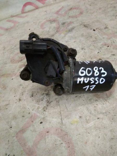 Мотор дворников Ssangyong Musso OM662 (662 920) 2003 передний