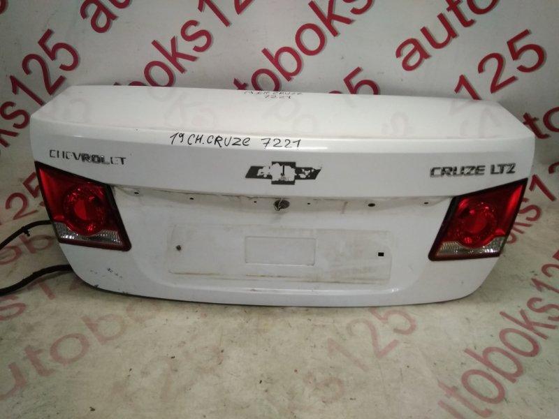 Крышка багажника Chevrolet Cruze J300 F18D4 2010
