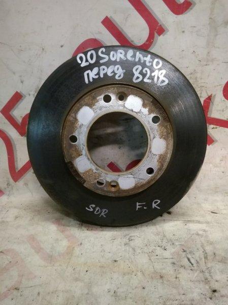 Тормозной диск Kia Sorento BL D4CB 2005 передний