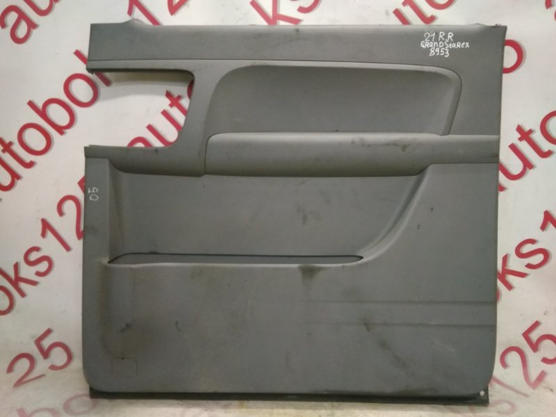 Обшивка двери Hyundai Grand Starex TQ D4CB 2009 задняя правая