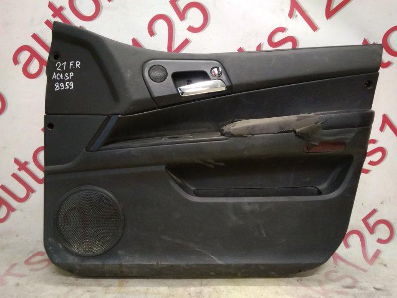 Обшивка двери Ssangyong Actyon Sports D20DT (664) 2007 передняя правая
