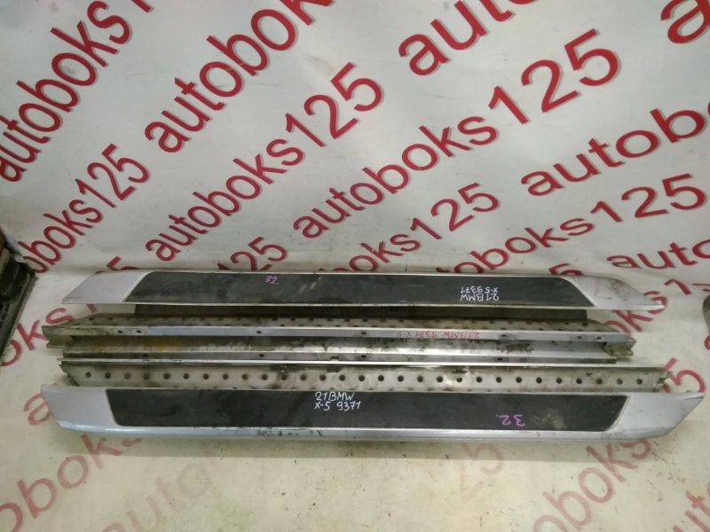 Подножка Bmw X5 E53 M54B30 2006