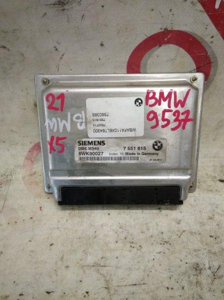 Блок управления двигателем Bmw X5 E53 M54B30 2006