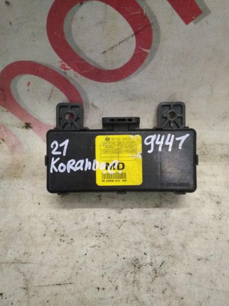Блок иммобилайзера Ssangyong Actyon CK D20DTF(671950) 2012