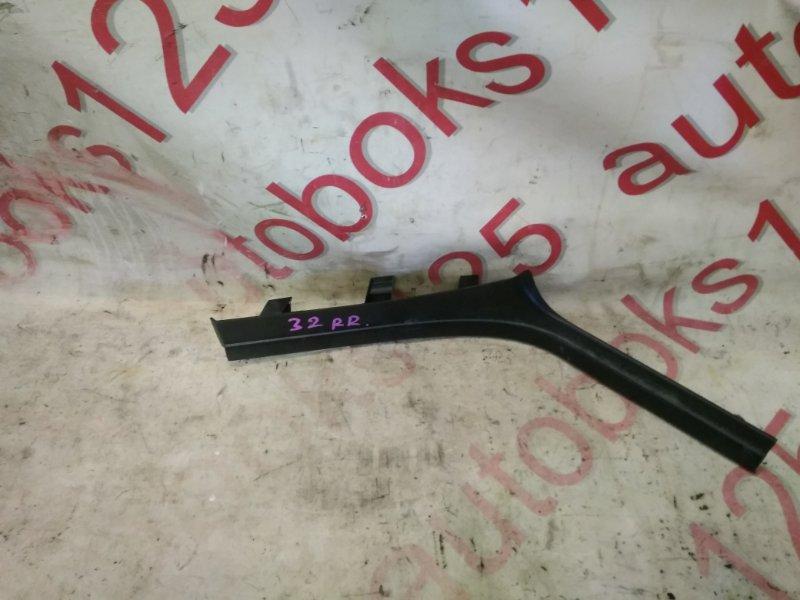 Накладка на порог Bmw X5 E53 M54B30 2006 задняя правая