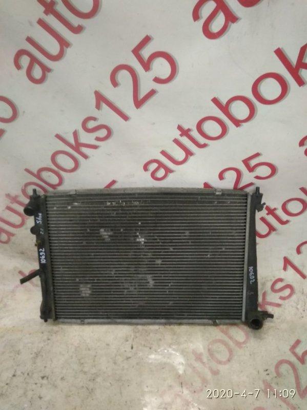 Радиатор двс Hyundai Starex A1 D4CB 2005