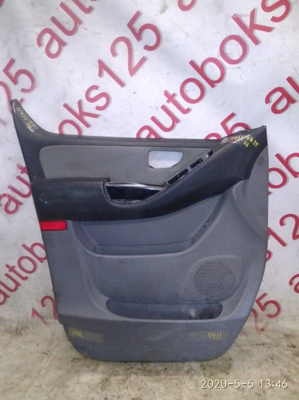 Обшивка двери Hyundai Grand Starex TQ D4CB 2010 передняя левая