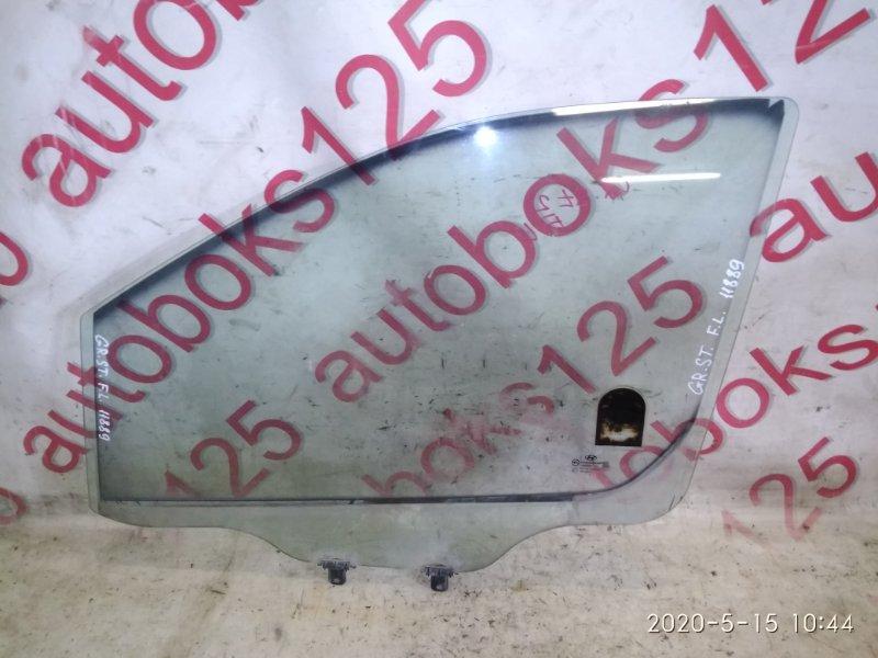 Стекло двери Hyundai Grand Starex TQ D4CB 2010 переднее левое