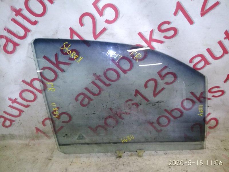 Стекло двери Hyundai Starex A1 D4CB 2005 переднее правое