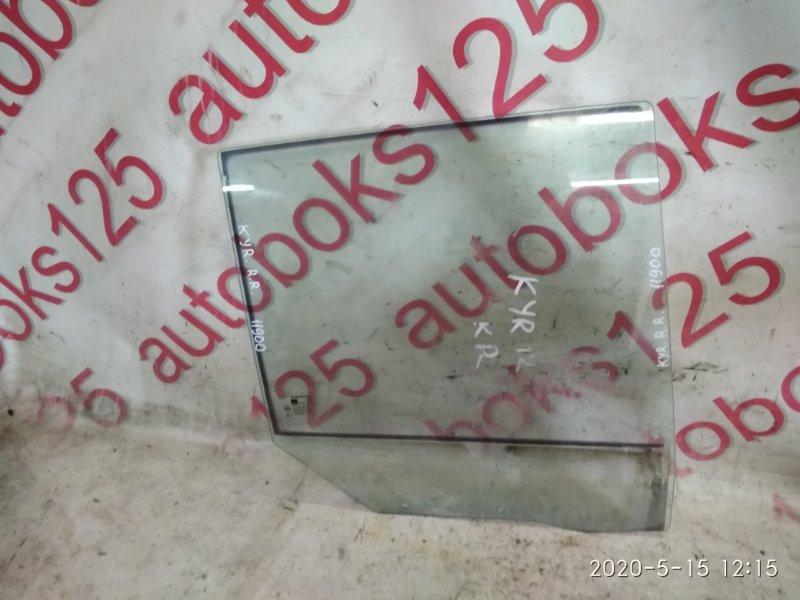 Стекло двери Ssangyong Kyron DJ D20DT (664) 2010 заднее правое