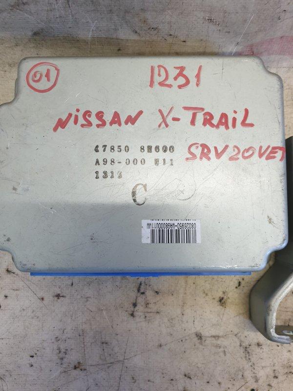 Блок управления abs Nissan X-Trail PNT30 SR20VET