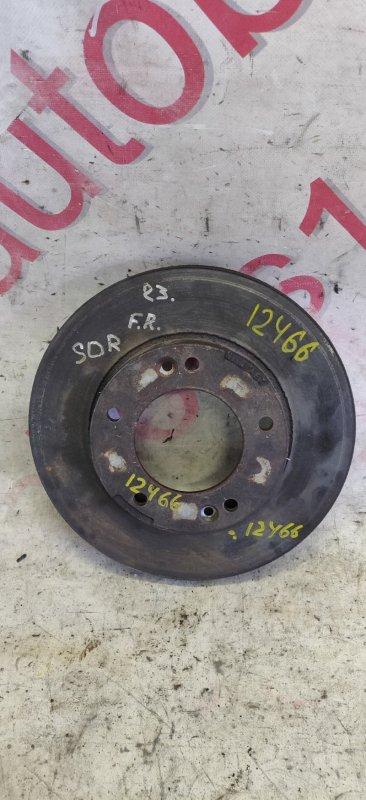 Тормозной диск Kia Sorento BL D4CB 2003 передний правый