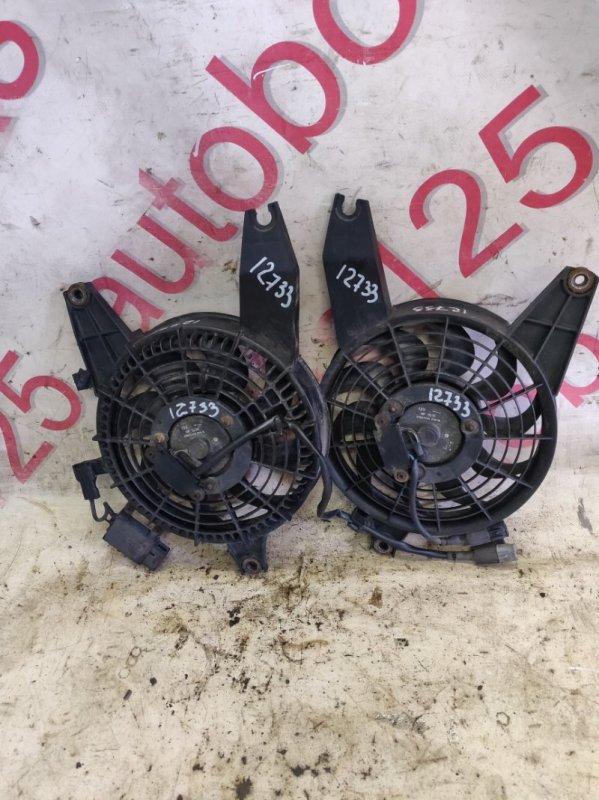 Вентилятор радиатора кондиционера Hyundai Terracan HP D4BH 2001