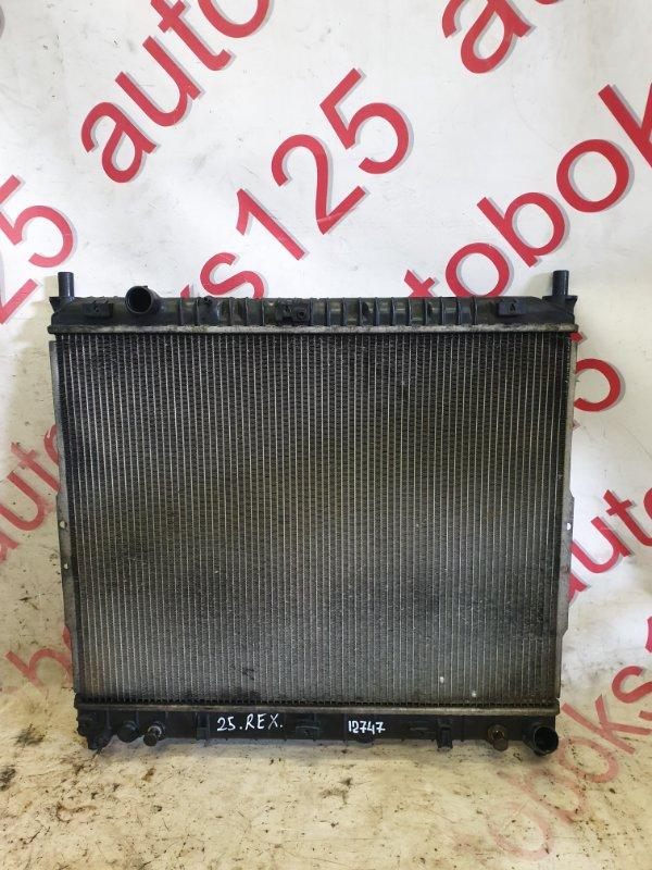 Радиатор двс Ssangyong Rexton RJN D27DTP 2007