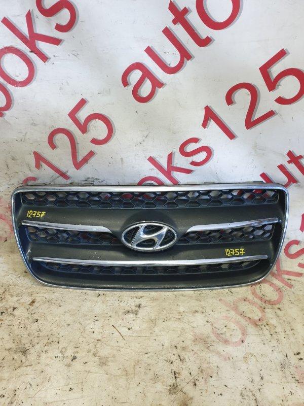 Решетка радиатора Hyundai Santa Fe CM D4EA 2007