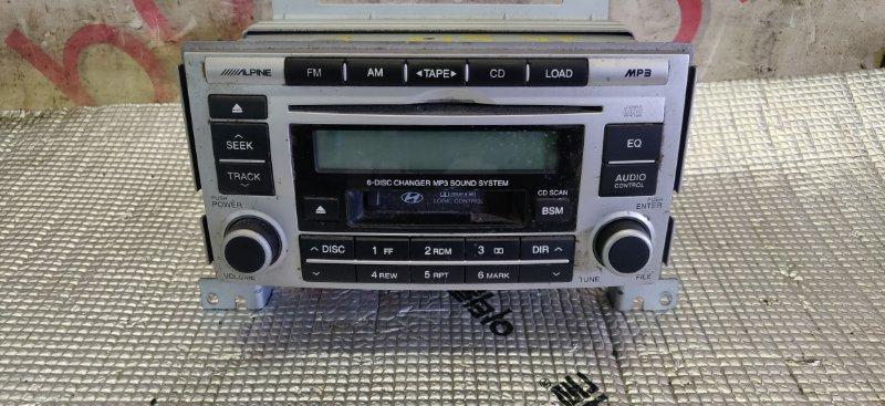 Магнитофон Hyundai Santa Fe CM D4EB 2007