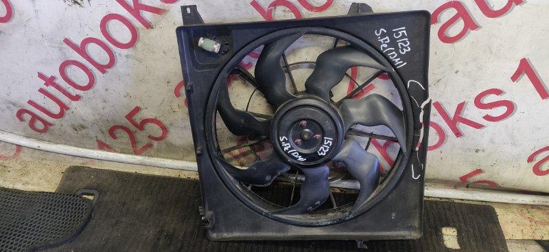 Диффузор радиатора двс Hyundai Santa Fe DM D4HA 2013