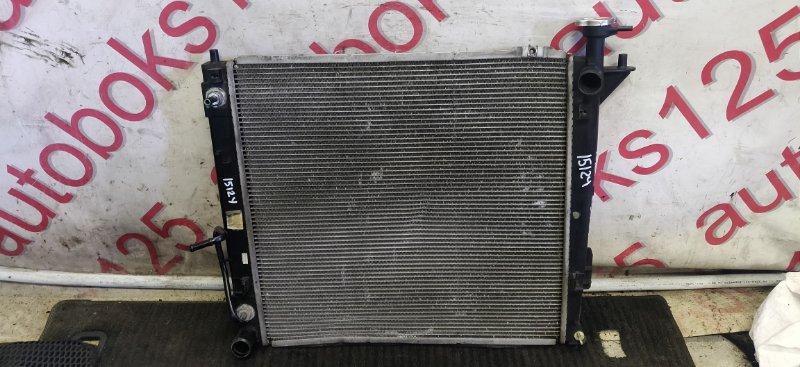 Радиатор двс Hyundai Santa Fe DM D4HA 2013