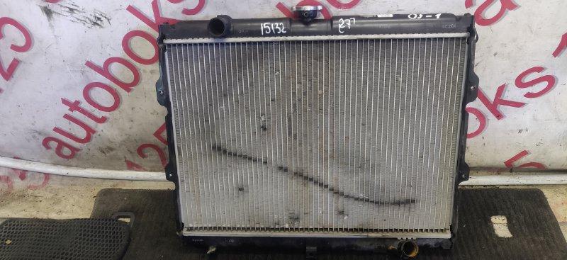 Радиатор двс Hyundai Galloper JK D4BH 1999