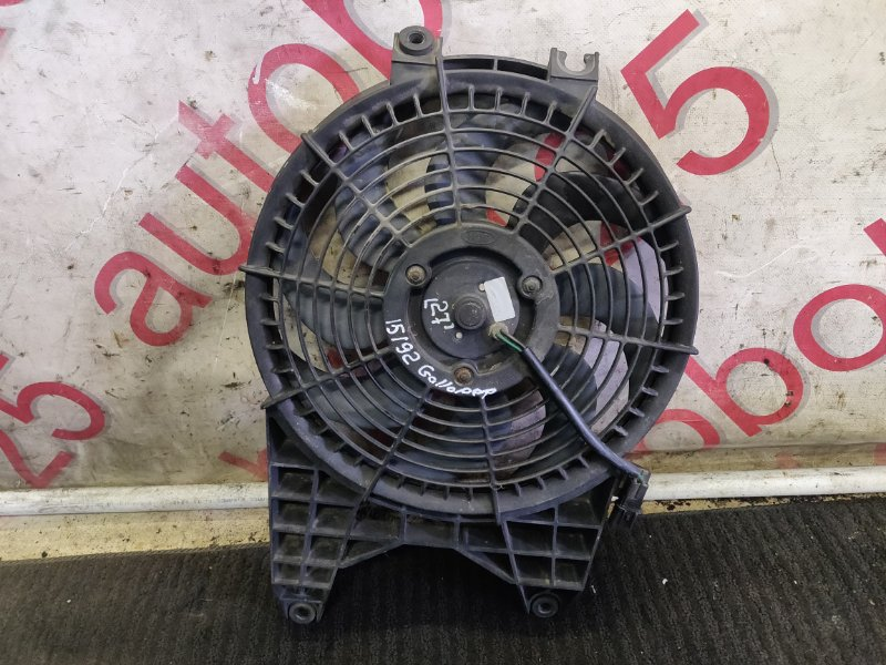 Вентилятор радиатора кондиционера Hyundai Galloper JK D4BH 1999
