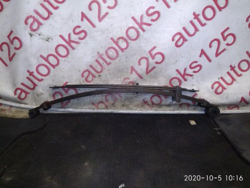 Рессора Hyundai Porter D4CB 2006