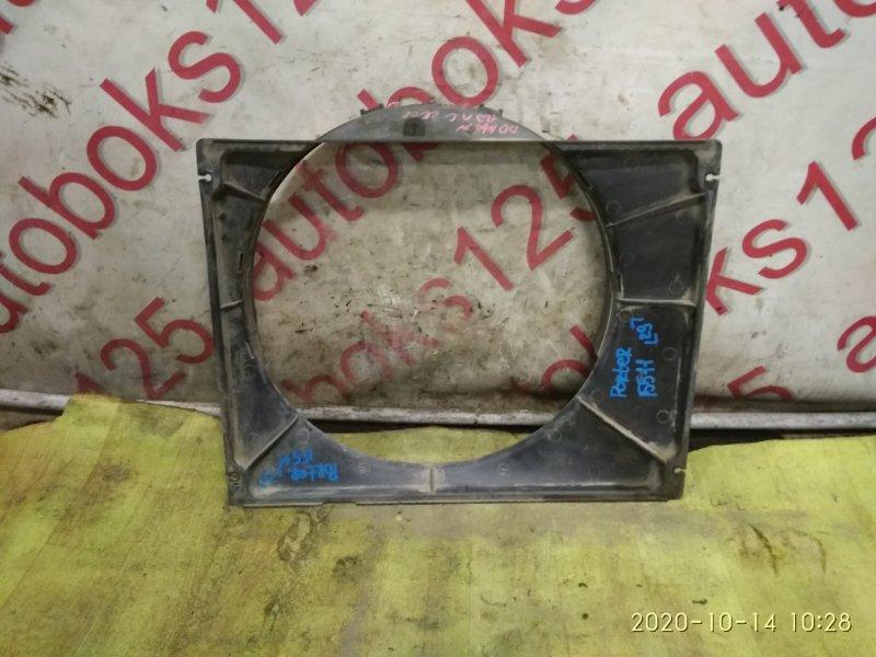 Диффузор радиатора двс Hyundai Porter D4CB 2006